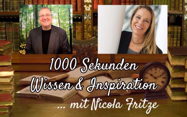 Mehr Lebensfreude gewinnen, Nicola Fritze im Interview
