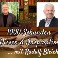 Spirituelle Intelligenz Rudolf Bleicher im Interview