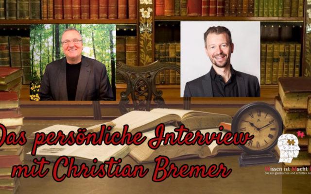 Mehr Gelassenheit, weniger Stress - Christian Bremer