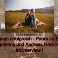 Unternehmerpaar Magdalena und Andreas Hacklinger